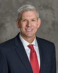 Portrait of Dr. Craig Meador smiling