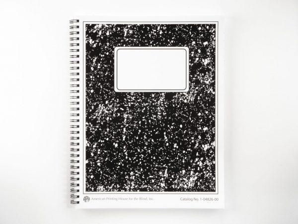 Collegiate Boldline Spiral Notebook