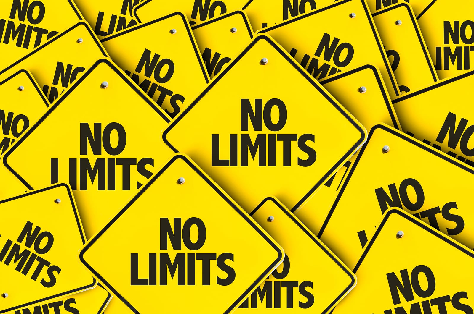 No Limits signs