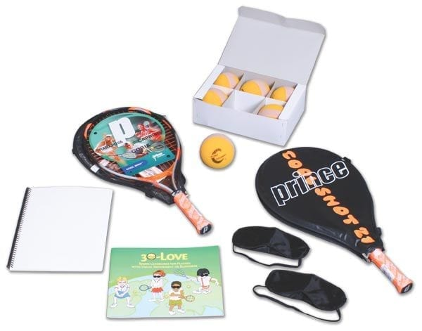 30-Love Tennis Kit Components