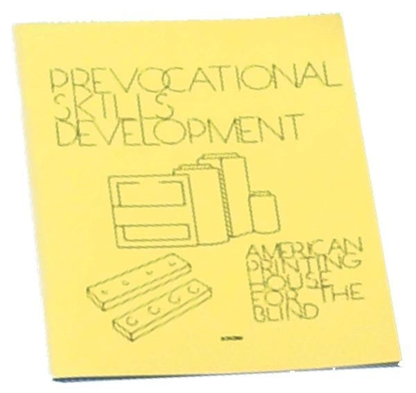 Prevocational Skills Development Materials-Guidebook Print Close-up