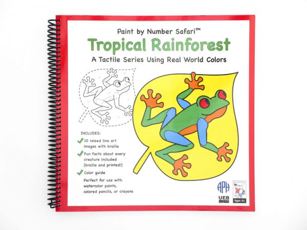 Paint By Number Safari Tropical Rainforest Front Cover