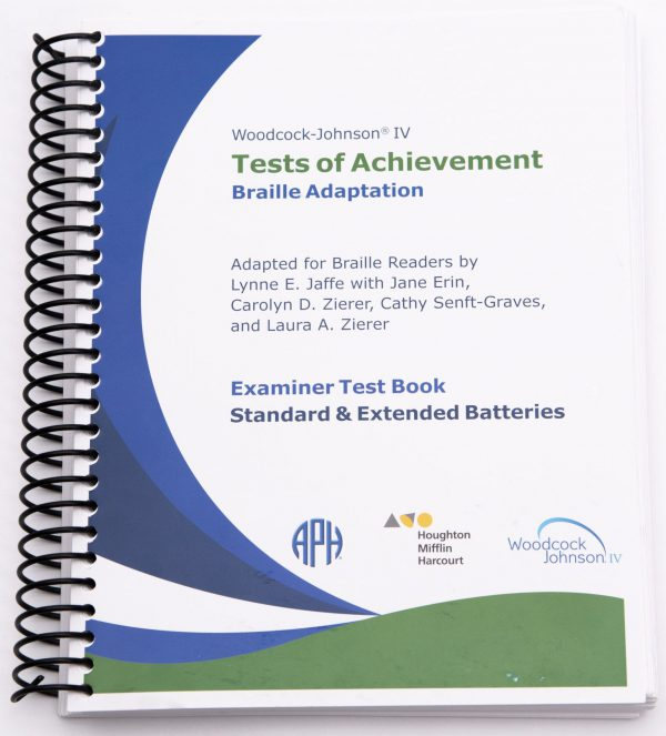 Woodcock-Johnson Test of Achievement Front Cover