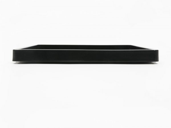 Work Play Tray Small Black Side View