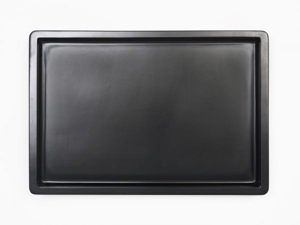 Work Play Tray Small Black Top View