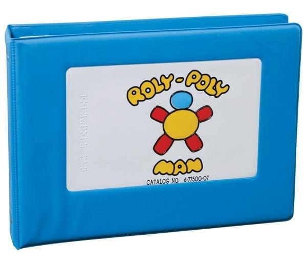 Roly Poly Man 3-ring bound book