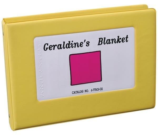 Geraldine's Blanket 3-ring bound book