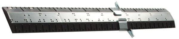 Ruler 1-Foot Braille Metric-English Measurement