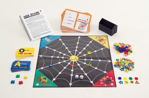 photo of the Web Chase game