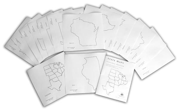 State Maps Collection: Western Region
