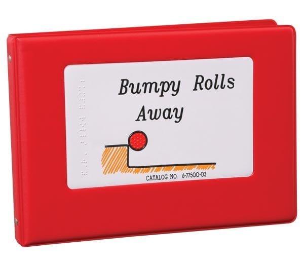 Bumpy Rolls Away 3-ring bound book