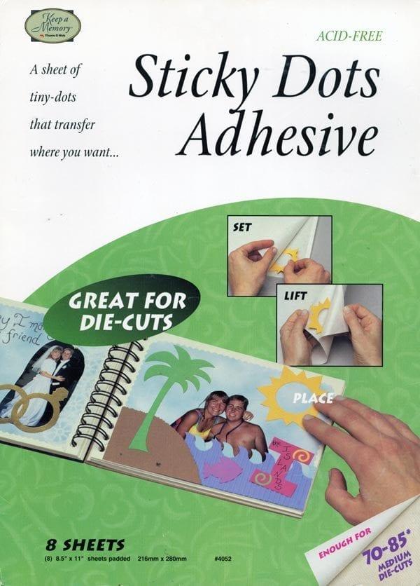 Sticky Dots Adhesive