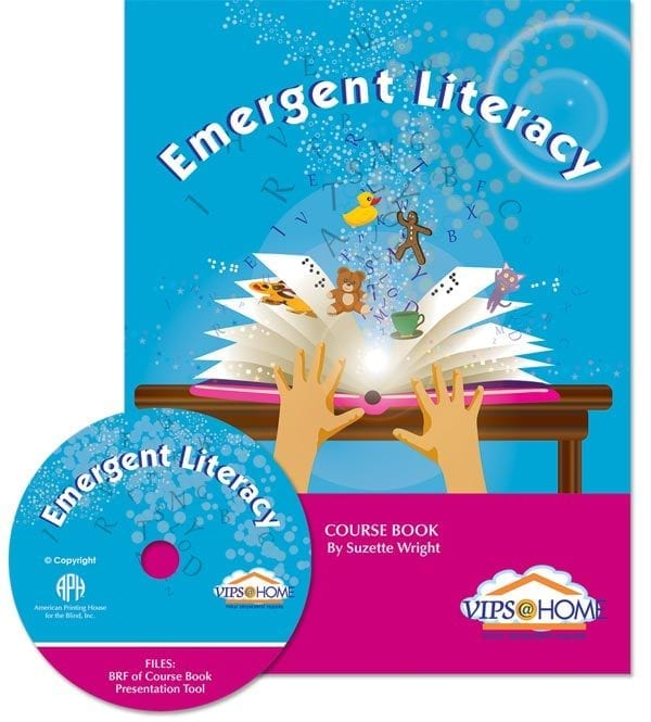 VIPS Emergent Literacy Cover and Compact Disk