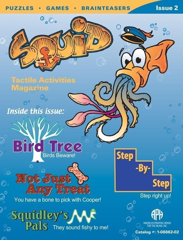 SQUID Tactile Activities Magazine Issue 2