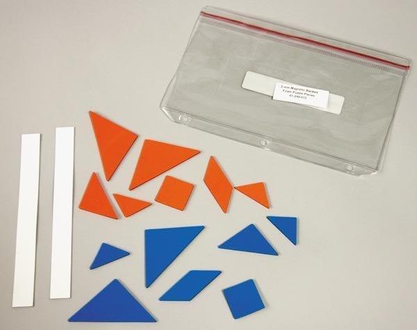 Tactile Tangrams Magnetic shapes