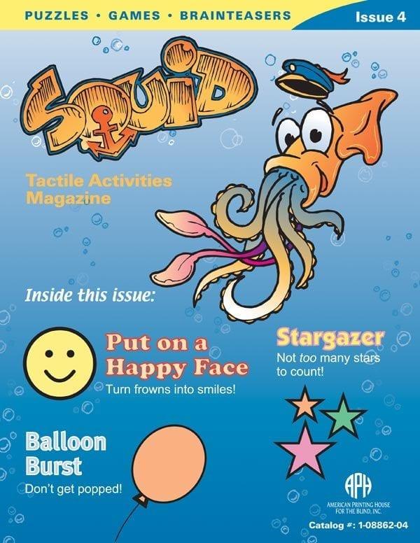 SQUID Tactile Activities Magazine Issue 4