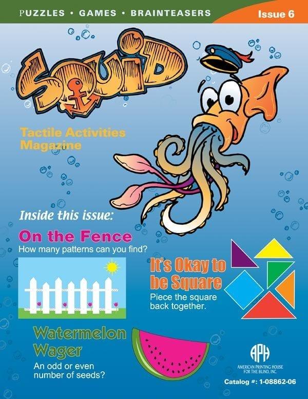SQUID Tactile Activities Magazine Issue 6