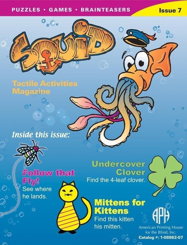 SQUID Tactile Activities Magazine Issue 7