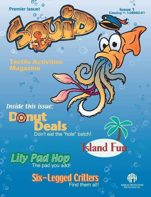 SQUID Tactile Activities Magazine Issue 1