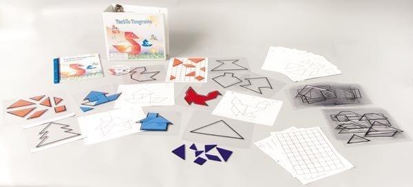Tactile Tangrams Kit