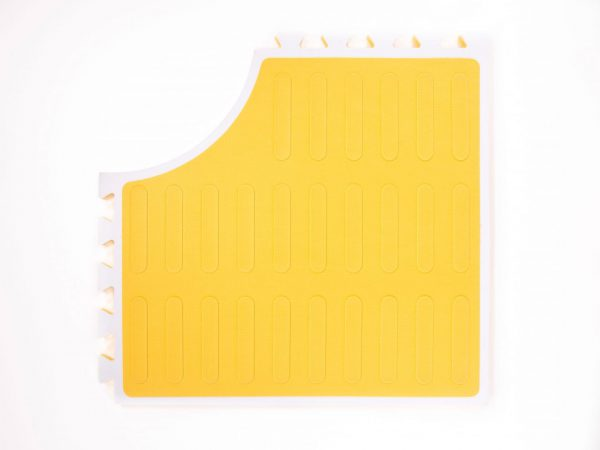 Reach and Match Learning Kit Yellow Sensory Mat Textured