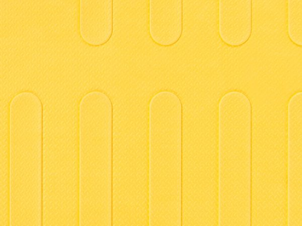 Reach and Match Learning Kit Yellow Sensory Mat Textured Side Close up