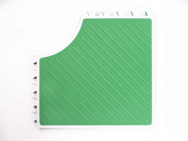 Reach and Match Learning Kit Green Sensory Mat Textured Side