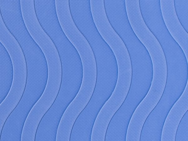 Reach and Match Learning Kit Blue Sensory Mat Textured Side Close up
