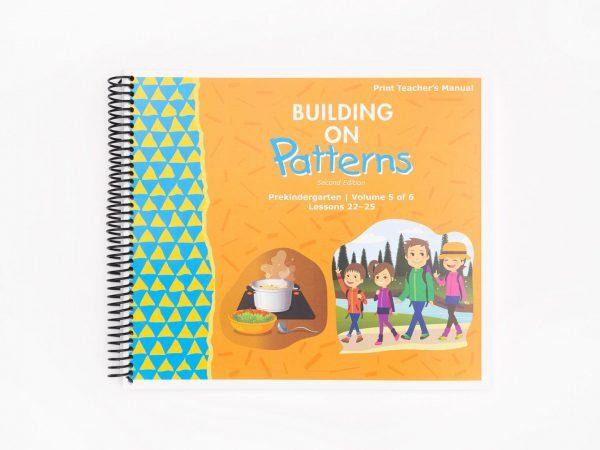 BOP Pre K Teacher Kit Teachers Manual Vol 5