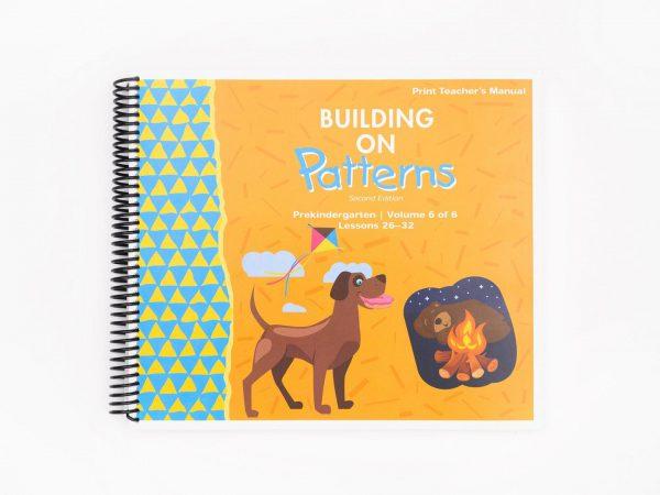 BOP Pre K Teacher Kit Teachers Manual Vol 6