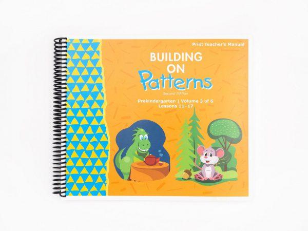 BOP Pre K Teacher Kit Teachers Manual Vol 3