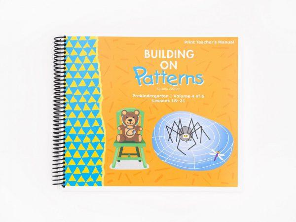 BOP Pre K Teacher Kit Teachers Manual Vol 4