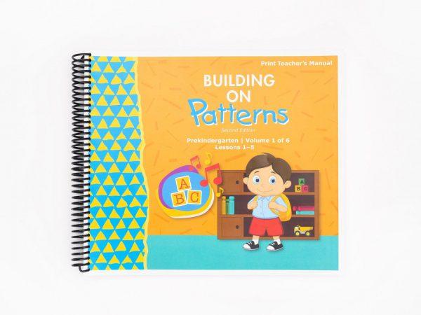 BOP Pre K Teacher Kit Teachers Manual Vol 1