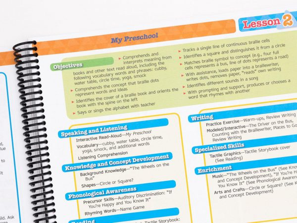 BOP Pre K Teacher Kit Teachers Manual Vol 1 interior