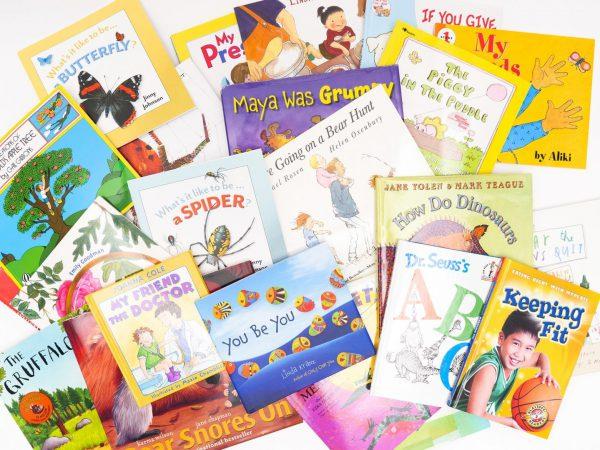BOP Pre K Student Kit Various Children's Books