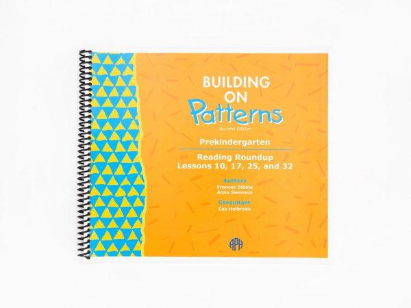 BOP Pre K Teacher Kit Reading Roundup