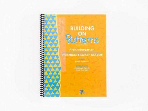 BOP Pre K Student Kit Preschool Teacher Booklet