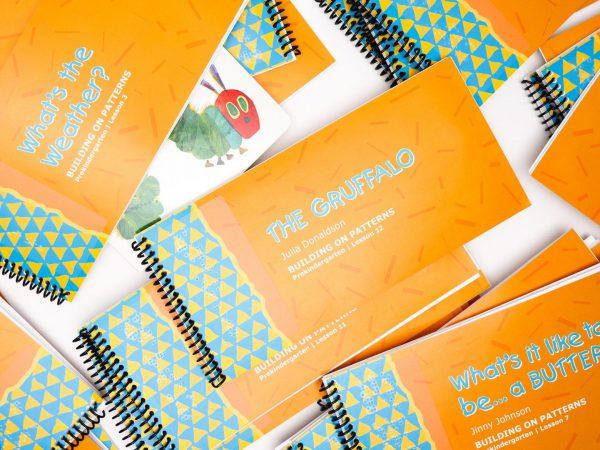 BOP Pre K Student Kit Children's Books Various Braille Booklets