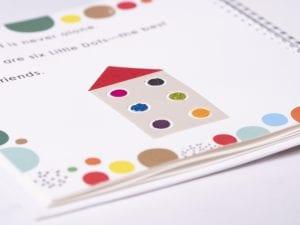 Six Little Dots Book Interior Close Up