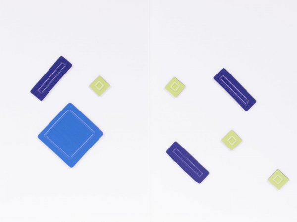 Tactile Algebra Tiles Working Board and Tiles Two