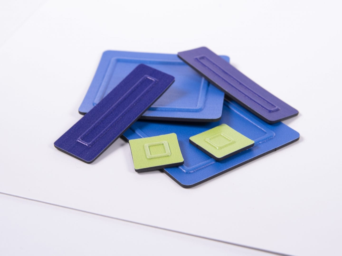 Tactile Algebra Tiles close up One