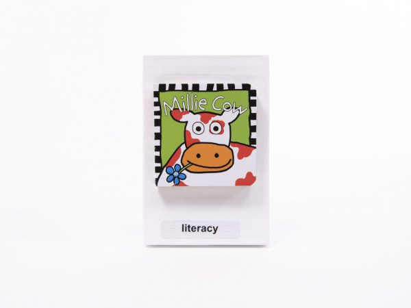STACS Literacy Cow Tile