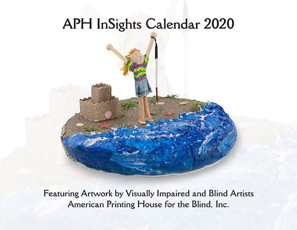 APH InSights Art Calendar 2020: Large Print-Braille, Single Copy