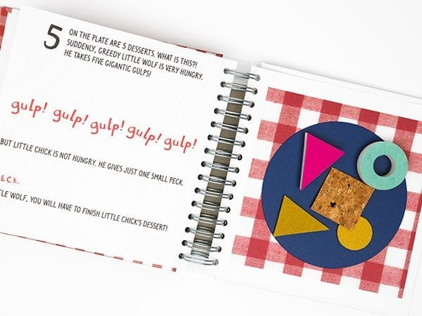 Let's Eat book opened to Desserts Page 6