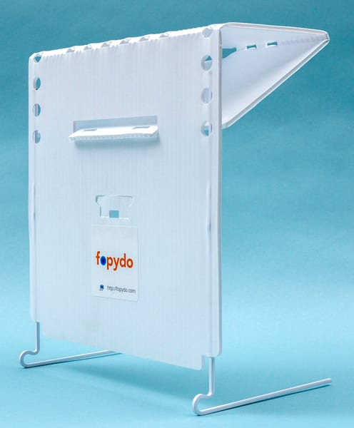 Portable reading stand for KNFB Reader Enterprise edition