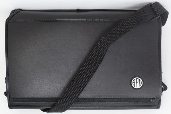 Mantis Q40 Executive Leather Case Front