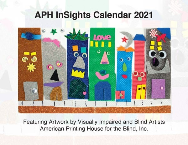 Front Cover of APH Insights Calendar 2021