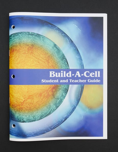 Cover of the print Build-A-Cell Student and Teacher Guide.
