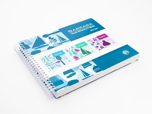 Barraga: Visual Efficiency Program instructor book (Teacher Guide, Evaluation, and Instruction)