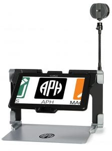 MATT Connect on a white background. The APH logo shows on it's screen